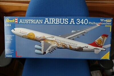Revell A340 Austrian Airlines 1/144 Kit • 48£