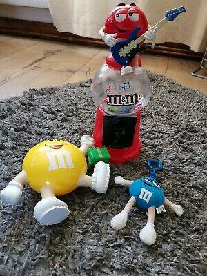 M & M Sweet Dispenser Merchandise Job Lot 8 • 12.50£