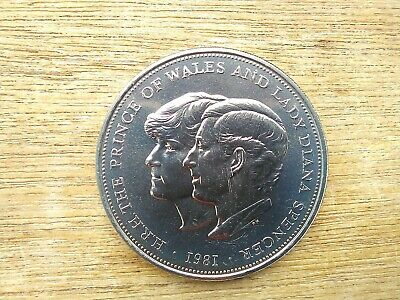 1981 Crown Coin The Royal Wedding Of Prince Charles & Lady Diana Spencer 1981 • 1.70£