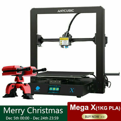 AU258 • Buy AU ANYCUBIC Mega-X 3D Printer DIY Ultrabase Plate Resume Print 300*300*305mm PLA