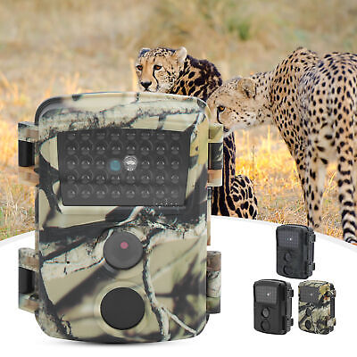 £27.18 • Buy 12MP 1920x1080P Field Detection Hunting Camera For Outdoor Surveillance Plastic