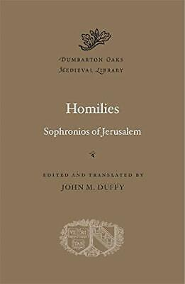 Homilies: 64 (Dumbarton Oaks Medieval Library) New Hardcover Book • 30.67£