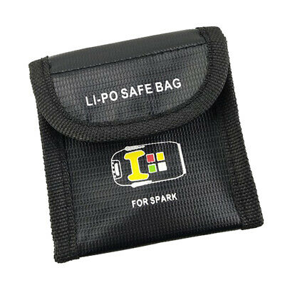 AU9.64 • Buy Li-po Safe Bag For DJI Spark Drone Battery Storage Bag Protection Bag Case