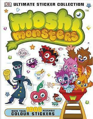 Moshi Monsters Ultimate Sticker Collection (Ultimate Stickers) By DK Book The • 1.10£