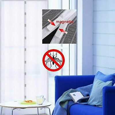 £5.99 • Buy New Magic Door Screen Magnetic Mesh Net Anti Mosquito Insect Fly Bug Curtain UK