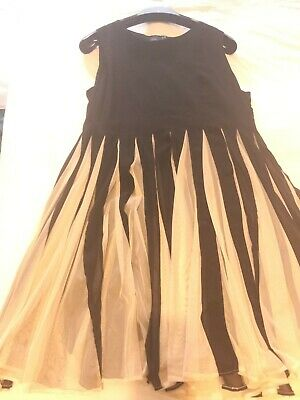 AU40.49 • Buy Gorgeous Special Occasion Dress Size 20 Black And Cream By ASOS