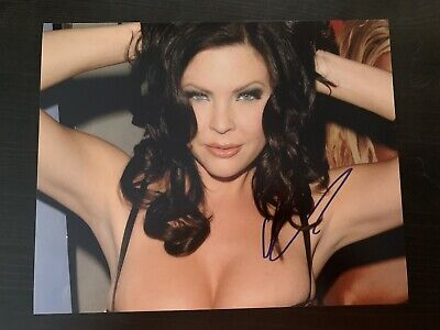 $ CDN25.06 • Buy Christa Campbell Signed 8x10 Photo Autographed Sexy Hot Maniacs