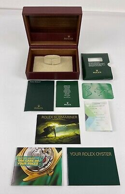 $ CDN27.14 • Buy Vtg Authentic Rolex Submariner Watch Box And Paperwork
