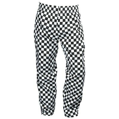 £15 • Buy Chef's Trousers Black And White Check - Large
