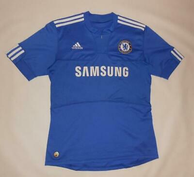 HOME SHIRT ADIDAS CHELSEA LONDON 2009-10 (M) Jersey Trikot Maillot Maglia • 9.99£