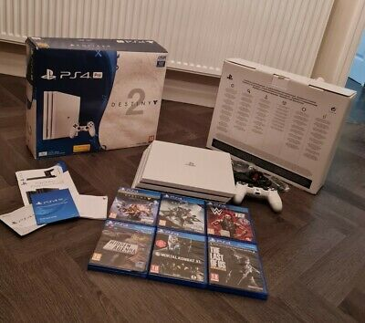 AU257.10 • Buy PS4 Pro Playstation 4 Destiny 2 Special Edition 1TB Console Bundle With 6 Games
