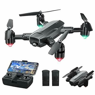 AU169.60 • Buy Drone With Camera For Adults, 1080P HD Camera Foldable WiFi FPV