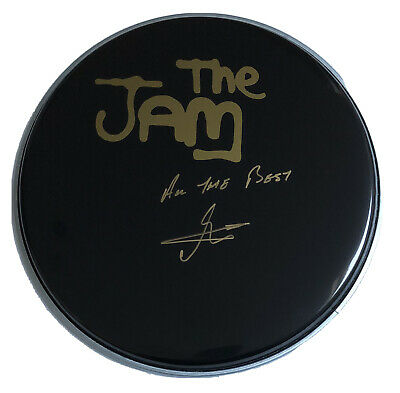 Signed The Jam Rick Buckler 12 Inch Drum Skin Rare Rare Paul Weller Proof • 99.99£