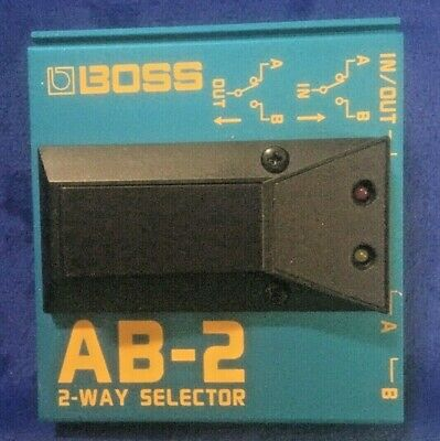$ CDN29.18 • Buy Boss AB-2 Tuner Guitar Effect Pedal, 2-way Selector Foot Switch