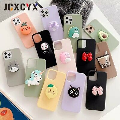 3D Cartoon Phone Case With Phone Grip/Stand • 7.50£