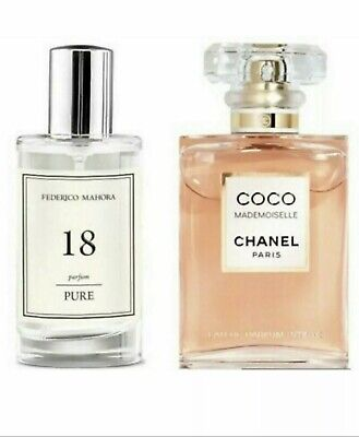 FM 18 Parfum Ladies Fragrance 50ml Inspired By Coco Madamoiselle Gift Present  • 9.99£