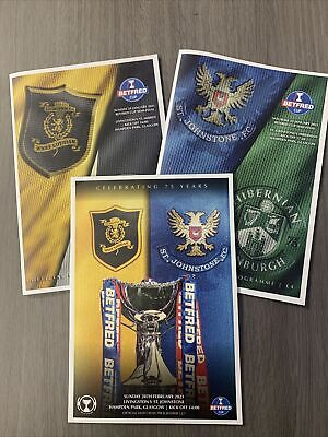 £8 • Buy 20/21 League Cup Semi And Final Programmes Set