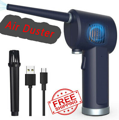 Cordless Air Duster Computer Cleaning Replaces Compressed Spray Gas Cans Blower • 50.51£