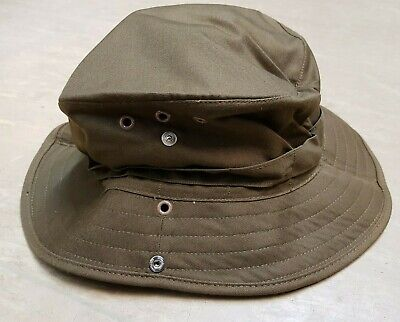 £44.95 • Buy New Genuine SADF South African Army Issue JL Normoyle Brown Bush Hat 63cm