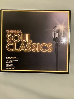 Various Artists : Original Soul Classics CD 3 Discs, 60 Tracks (2014) Like New • 3.50£
