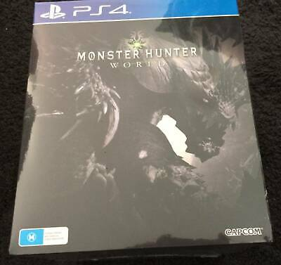AU435 • Buy Monster Hunter World Collectors Edition PS4 Brand New Sealed