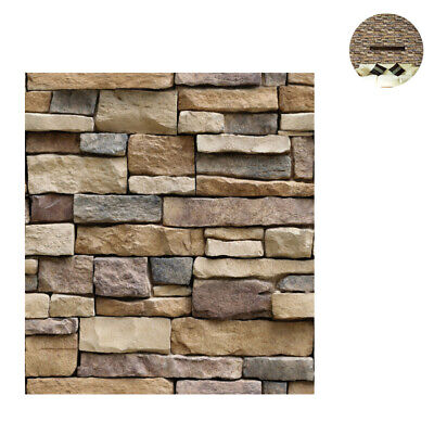 3D Stone Wallpaper Peel And Stick Wall Stickers Decoration For Bedroom (SA-1007) • 23.54£