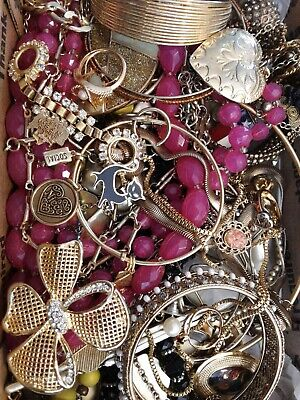 $ CDN18.93 • Buy #8 Vintage To Now Estate Find Jewelry Lot Junk Drawer Unsearched Untested Wear