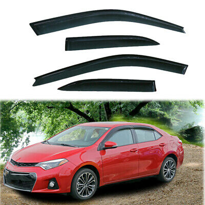 $26.12 • Buy Fit For Toyota Camry 1997-2001 Window Visors Rain Vent Guard Deflector Protect