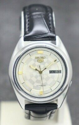 $ CDN27.76 • Buy Authentic Seiko 5 Automatic Movement 7009 Japan Made Men's Watch.