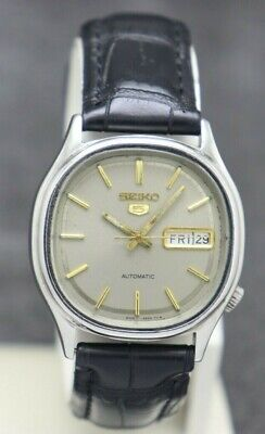$ CDN29.02 • Buy Authentic Seiko 5 Automatic Movement 6309-5820 Japan Made Men's Watch.