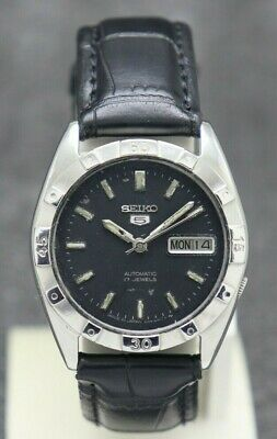 $ CDN27.76 • Buy Authentic Seiko 5 Fixed Bezel Automatic Movement 7009 Japan Made Men's Watch.