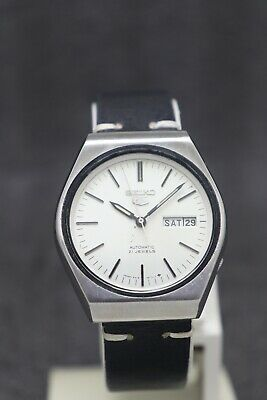 $ CDN31.54 • Buy Vintage Seiko 5 Automatic Movement 6319-817A Japan Made Men's Watch.