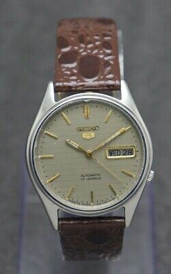 $ CDN26.50 • Buy Authentic Seiko 5 Automatic Movement 7009 Japan Made Men's Watch