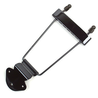 $ CDN19.40 • Buy Archtop Guitar Trapeze Tailpiece For Kay Hamony Silvertone Etc Old Guitar Black