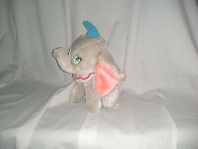 10  Cute Soft Sitting Dumbo Elephant Euro Disney Toy Plush Doll • 8.50£