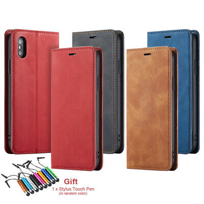 Iphone Faux Leather Credit Card Holder/Wallet Purse Phone Protective Case Cover • 6.53£