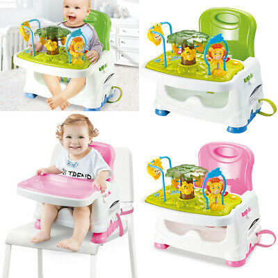 £25.61 • Buy 3 In1 Baby Activity Table Feeding Booster Seat Toddler Highchair Portable Travel