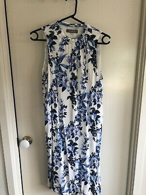 AU10 • Buy Oasis Size 12 High Neck Floral Dress From ASOS