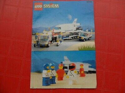 Vintage Lego 6346 Space Shuttle Launching Crew 1992 With Instructions And Box • 39.99£