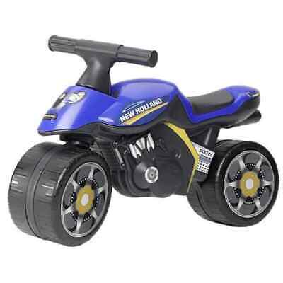 Falk Ride-on Motorbike Blue Riding Toy Vehicle For Kid Toddler Baby Child • 46.93£