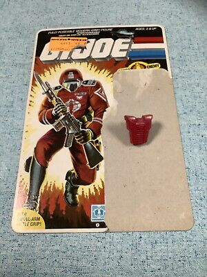 $ CDN12.56 • Buy GI Joe 1985 Cobra Elite Trooper Crimson Guard Backpack Uncut File Card RELISTED!