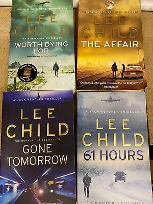 Lee Child Jack Reacher Paperback Books - Very Good Condition, Like New • 10£