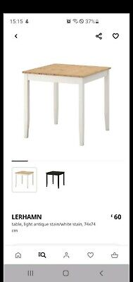 NEED GONE ASAP Ikea Dining Table And 2 Chairs • 14.40£