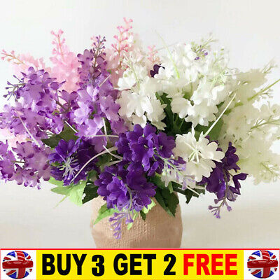 £3.59 • Buy  Artificial Fake Real Touch Hyacinth Flowers Wedding Bouquet Home Party Decor