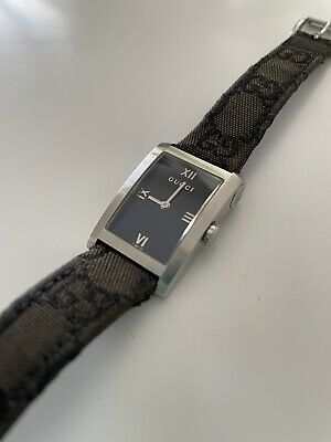 AU199.99 • Buy Women's Vintage Quartz Gucci Watch 8600J Swiss Made GG Band Stainless Steel