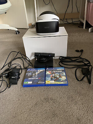 AU200 • Buy PlayStation VR Headset + PS4 Camera, Two Vr Games. Excellent Condition