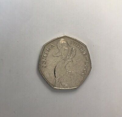 2016 Beatrix Potter Jemima Puddleduck 50p Coin Fifty Pence Circulated • 7.50£