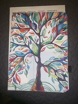 Samsung S3 Tablet Case 'Tree Of Life' Colourful Case VGC + Screen Protector X 1 • 9.99£