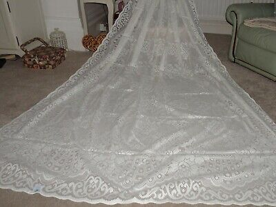 Laura Ashley Nottingham Lace Bedspread In Ivory. Brand New And Very RARE • 99£