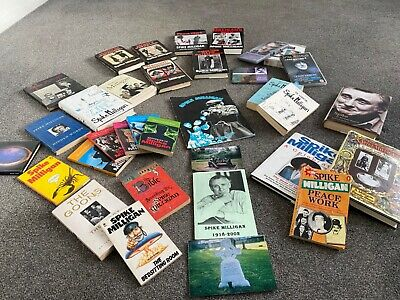 Spike Milligan Collection - Books/cds/dvds • 50£